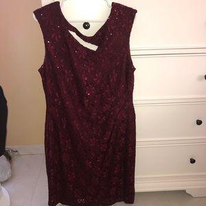 BRAND NEW Marroon Cocktail Dress